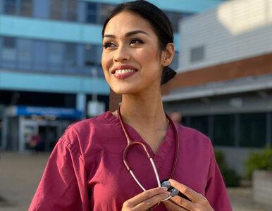 Miss Anglii wraca do pracy w szpitalu, by pomóc w walce z koronawirusem....