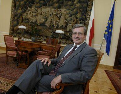Komorowski: Jaruzelski był prezydentem. Historii nie zmienię