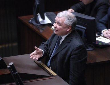 Kaczyński: to dla mnie strasznie smutne