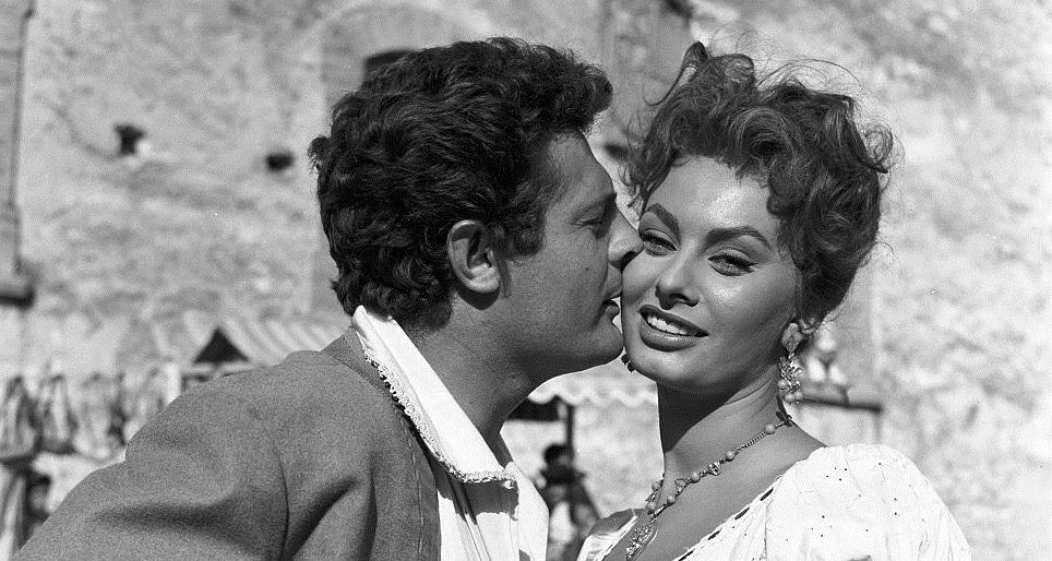 "Sophia Loren w filmie ""Piękna młynarka"" (1955)"