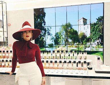 Jennifer Lopez na otwarciu galerii handlowej w Katarze