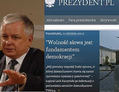 """""""Wolność słowa jest fundamentem demokracji"""""""