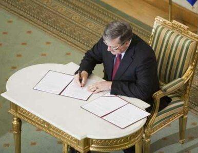 Prezydent przekazał IPN-owi 11 tomów akt o Katyniu