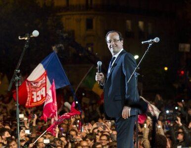 """Hollande obiecuje Europie koniec oszczędzania. """"Moje zwycięstwo to..."""
