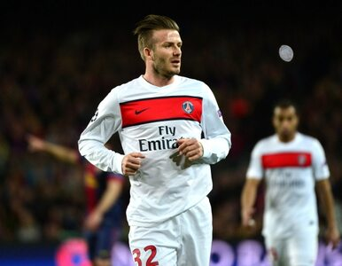 Liga francuska: PSG wygrało, ale straciło Beckhama