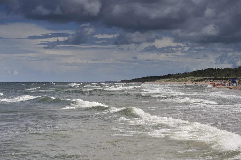 Morze Bałtyckie, zdjęcie ilustracyjne