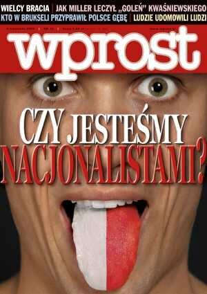 Okładka tygodnika Wprost nr 13/2006 (1216)