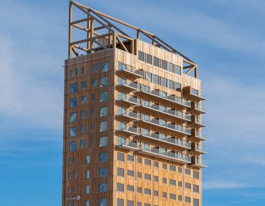 Nowy najwyższy na świecie budynek z drewna