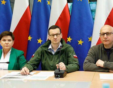 Morawiecki na spotkaniu sztabu kryzysowego w Małopolsce: Módlmy się,...