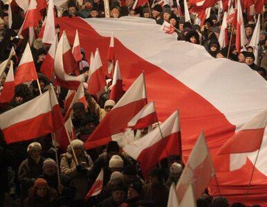 """""""Rząd obalimy, Smoleńsk pomścimy"""". Manifest przed Kancelarią Premiera"""