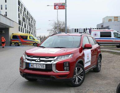 Kolejne samochody trafiły do szpitali, żeby pomóc w walce z epidemią